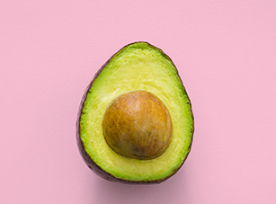 For difficulties with swallowing in seniors, eat soft foods such as avocados.